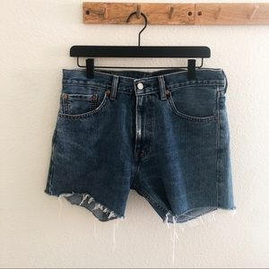 High-Waisted Levi's Cut Off Shorts